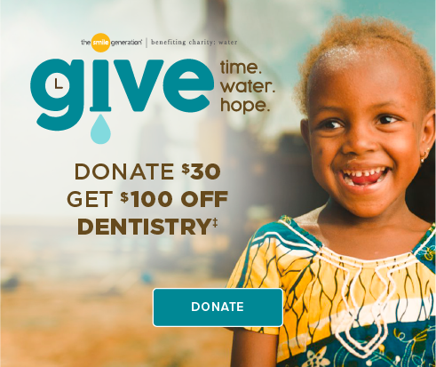 Donate $30, Get $100 Off Dentistry - Legacy Smiles Dentistry